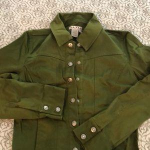 Cute olive green jacket